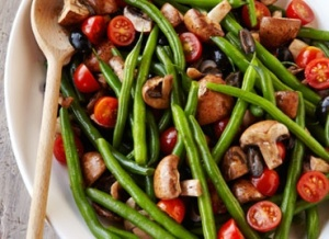 Italian Marinated Green Bean Vegetable Salad